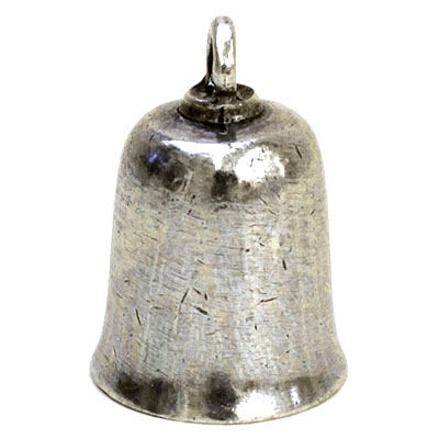 GREMLIN BELL Plain Large Pewter