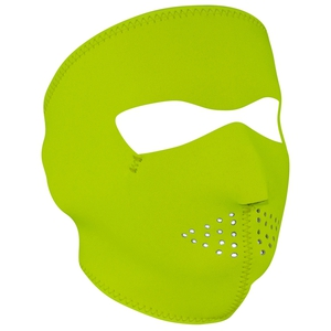 FULL FACEMASK Hi-Vis Lime
