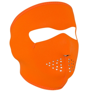 FULL FACEMASK Hi-Vis Orange