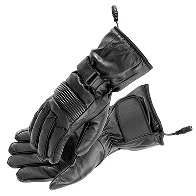 FIRSTGEAR HEATED RIDER GLOVES BLACK Women's