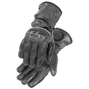 FIRSTGEAR HEATED CARBON GLOVES BLACK