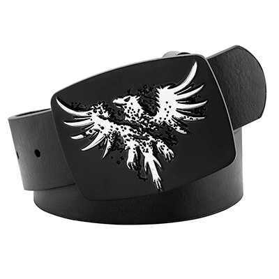 NICKEL EAGLE BELT