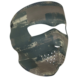 FULL FACEMASK Dark Brushed Camo