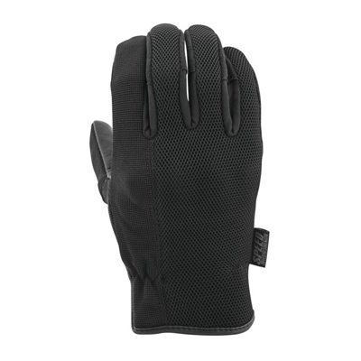 Last Man Standing Leather-Mesh Gloves