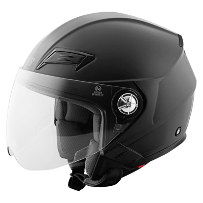 SS650 HELMET SOLID SPEED MATTE BLACK
