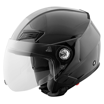 SS650 HELMET SOLID SPEED GLOSS BLACK