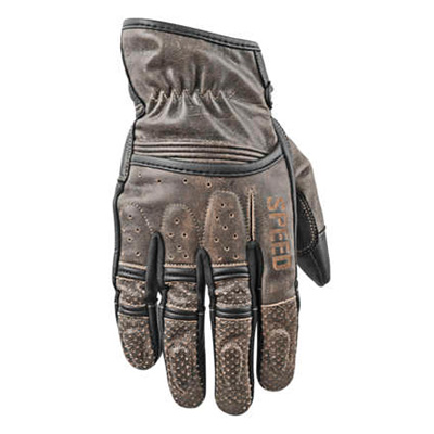 RUST AND REDEMPTION LEATHER GLOVES Olive