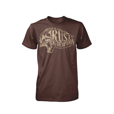 RUST AND REDEMPTION TSHIRT