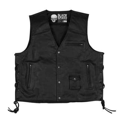 Axe Leather Vest