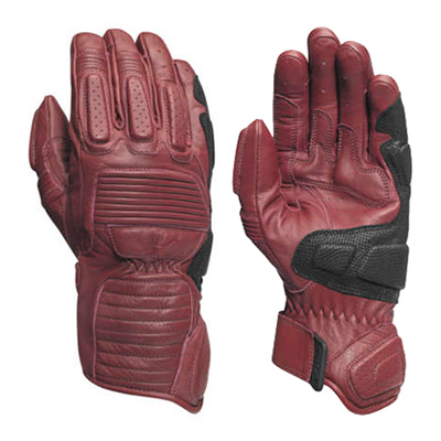 ACE GLOVES Oxblood