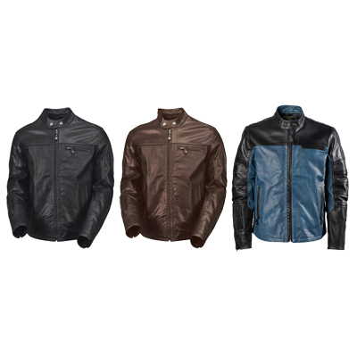 Ronin Perforated Leather Jacket