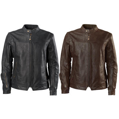 Walker Perforated Leather Jacket