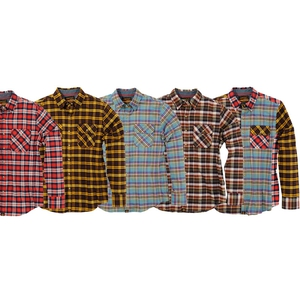 NHB1504 ネルシャツ