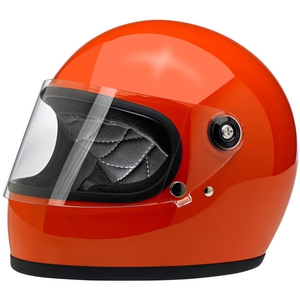 GRINGO S ECE HELMET - GLOSS HAZARD ORANGE