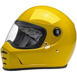 LANE SPLITTER HELMET - GLOSS SAFE-T YELLOW