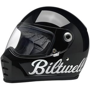 LANE SPLITTER HELMET - GLOSS BLACK FACTORY