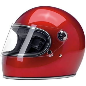 GRINGO S ECE HELMET - METALLIC CANDY RED