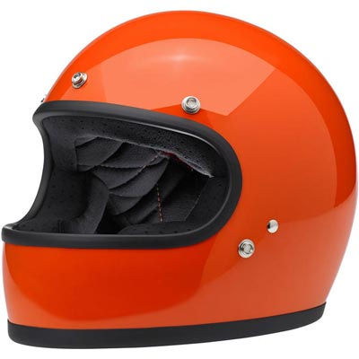 GRINGO HELMET - GLOSS HAZARD ORANGE