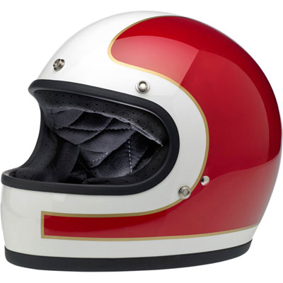 GRINGO HELMET - LE TRACKER RED/WHITE/BLUE