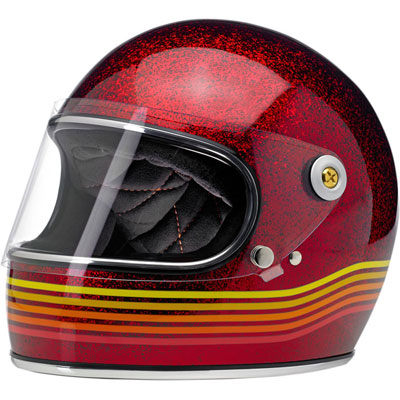 GRINGO S HELMET - SPECTRUM RED