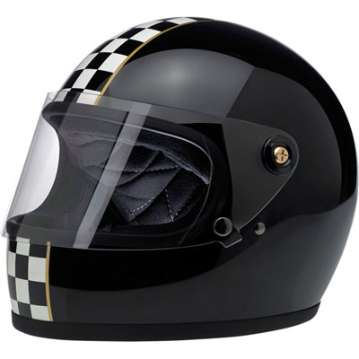 GRINGO S HELMET - CHECKER BLACK
