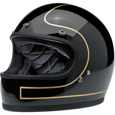 GRINGO HELMET - LE TRACKER GLOSS BLACK/GOLD