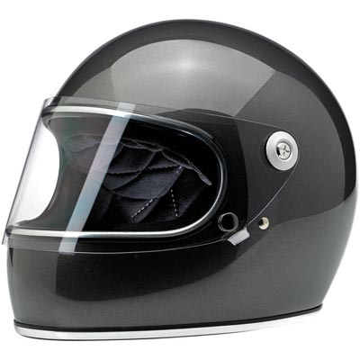 GRINGO S HELMET - GLOSS METALLIC CHARCOAL