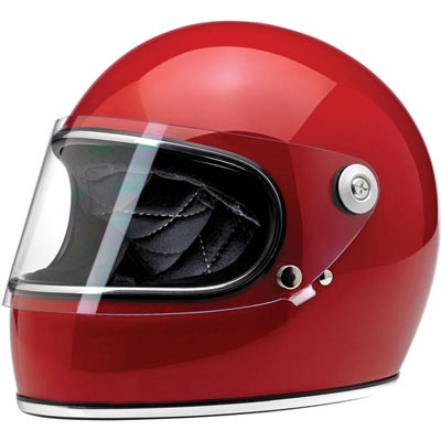 GRINGO S HELMET - GLOSS BLOOD RED