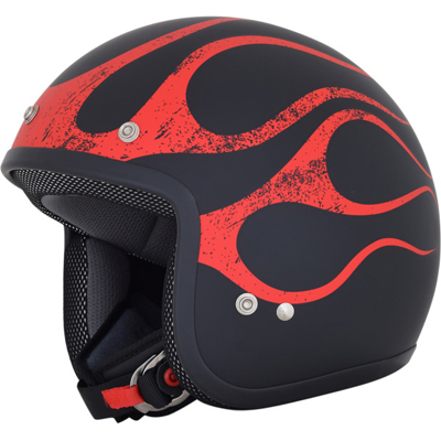 BLACK/RED FLAME FX-75