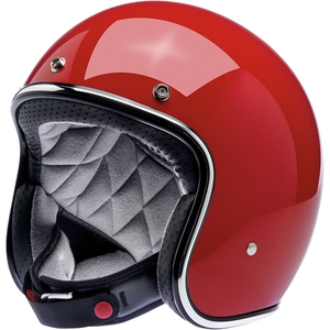 BONANZA HELMET - SOLID GLOSS BLOOD RED