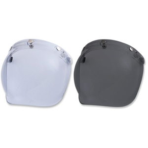 VINTAGE 3-SNAP FLIP BUBBLE SHIELD