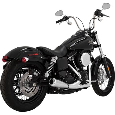 VANCE&HINES UPSWEEP 2in1マフラー