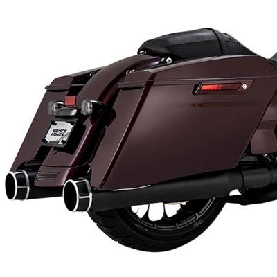VANCE&HINES TORQUER 450 スリップオンマフラー ツーリングモデル用