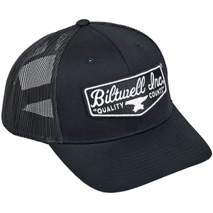 Black Shield Patch Hat
