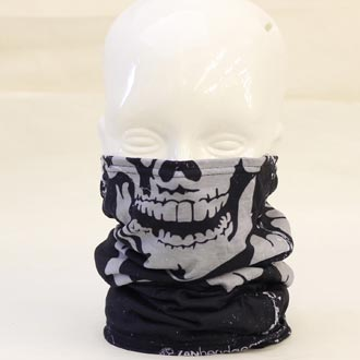 FLEECE-LINED MOTLEY TUBE SKULL-X