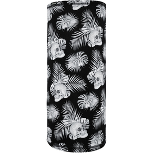 SPORTFLEX MOTLEY TUBE Black & White Tropical Skulls