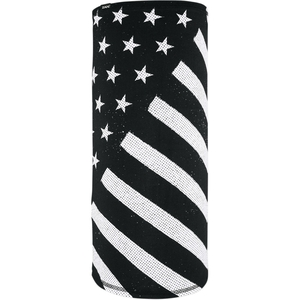SPORTFLEX MOTLEY TUBE Black & White Flag