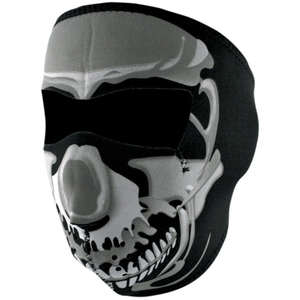 FULL FACEMASK Chrome Skull