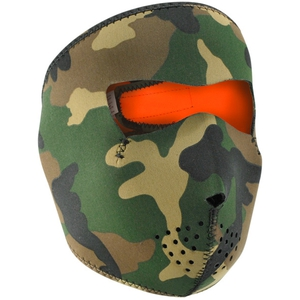 FULL FACEMASK Woodland Camo