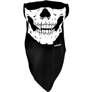HALF-FACE STRETCH FACE MASK Glow In The Dark Skull