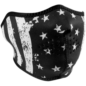 HALFMASK Black/White Flag
