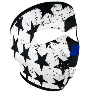 FULL FACEMASK Thin Blue Line
