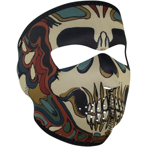 FULL FACEMASK Psych Skull