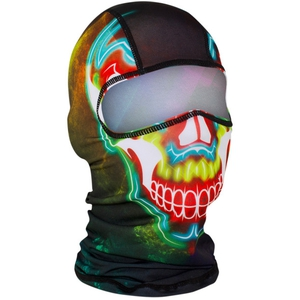 BALACLAVA Electric Skull Polyester