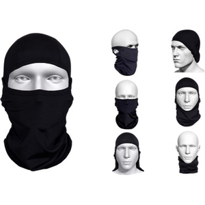 BLACK MULTI-FUNCTIONAL BALACLAVA
