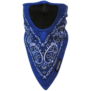 FACEFIT FACEMASK Blue Paisley