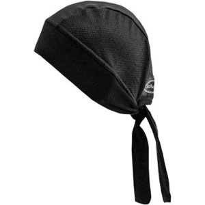 STRETCH HEADWRAP Black Mesh