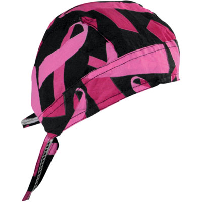 FLYDANNA Black/Pink Breast Cancer Ribbon