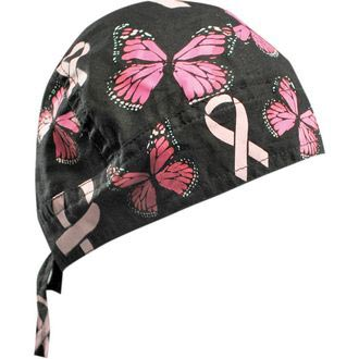 FLYDANNA Breast Cancer Ribbon and Butterflies