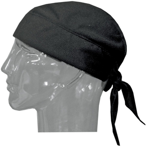 HYPERKEWL Black Evaporative Cooling Skull Cap